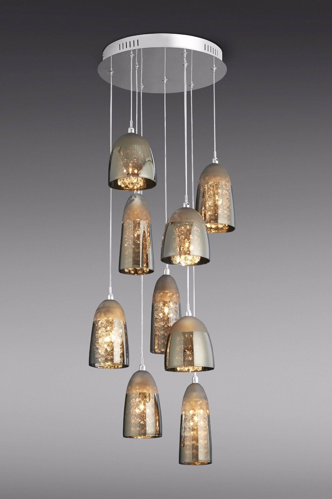 Next phoebe 9 light cluster pendant ceiling lighting chandelier new picclick uk - Ceiling lights and chandeliers ...