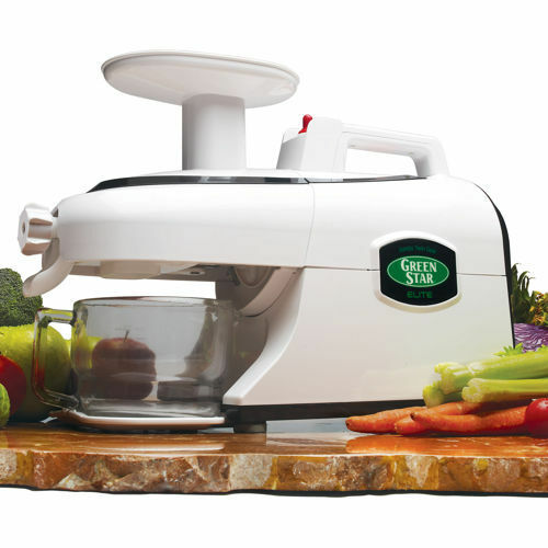 Slow Juicer Green Star Elite : Green Star Elite GSE-5000 Entsafter, Saftpresse, Slow Juicer Wei? EUR 487,49 - PicClick NL