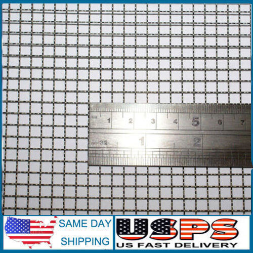 Woven Wire Mesh Sizes | Woven Wire 5 Mesh 12 X24 Size 4 5mm Hole 0 7mm Wire