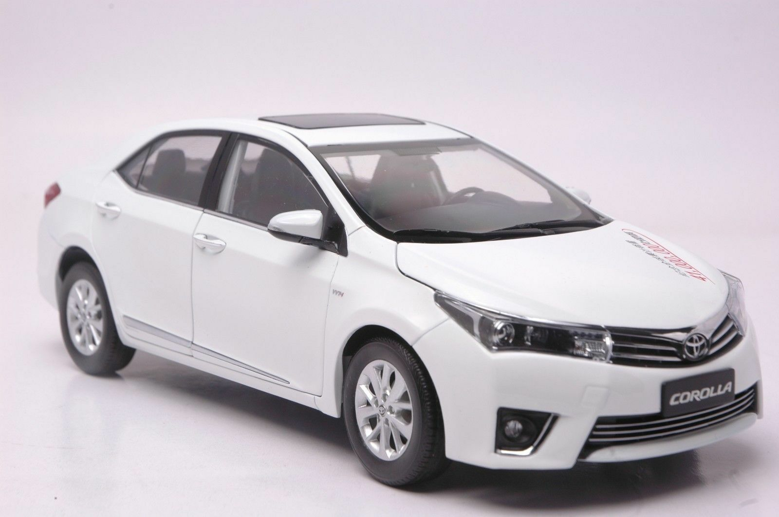 toyota corolla 2014 car model in scale 1 18 white cad picclick ca. Black Bedroom Furniture Sets. Home Design Ideas
