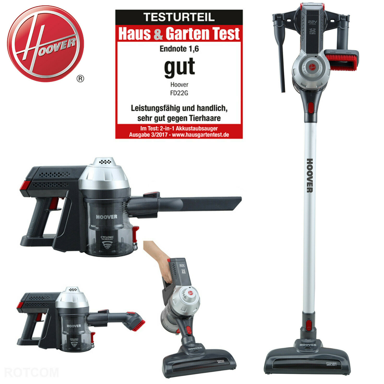 hoover freedom fd22g akkuhandstaubsauger 2 in 1 22 2 v staubsauger akku eur 129 90. Black Bedroom Furniture Sets. Home Design Ideas