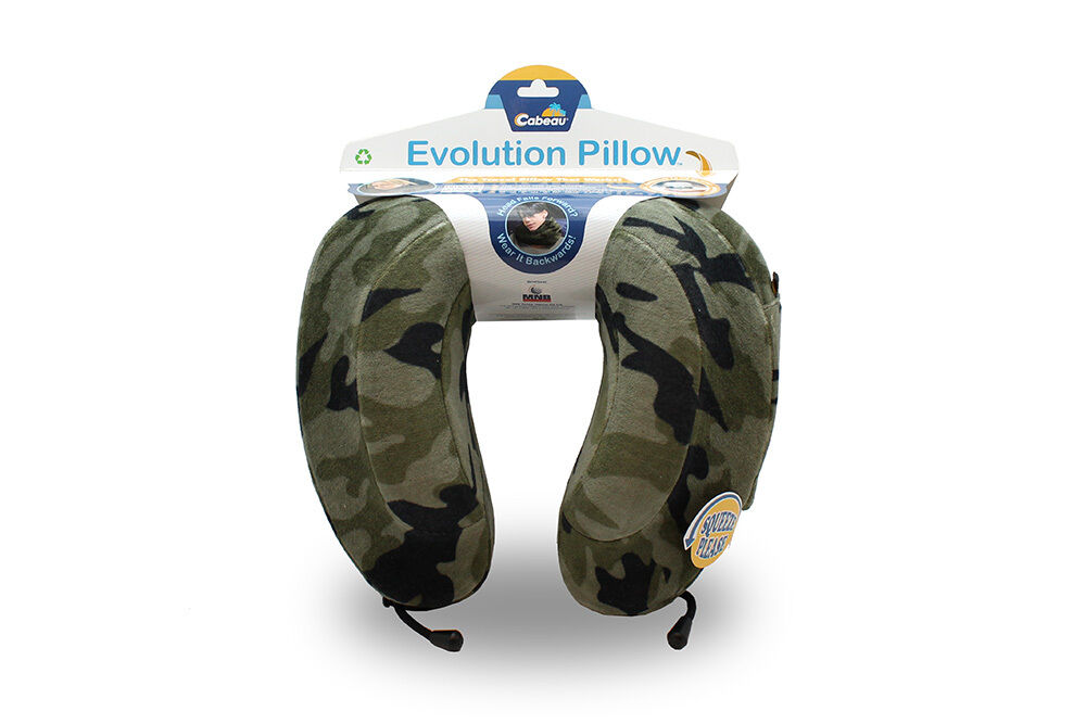 Evolution Neck Pillow Travel With Cabeau Today Cabeau