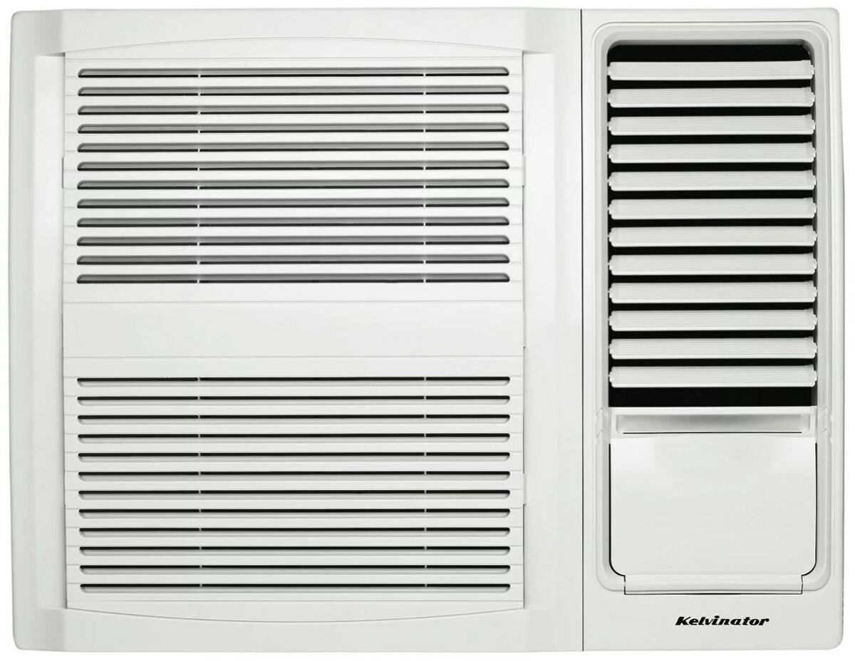 Kwh15cme kelvinator 1 6kw cooling only window wall air for 15 width window air conditioner