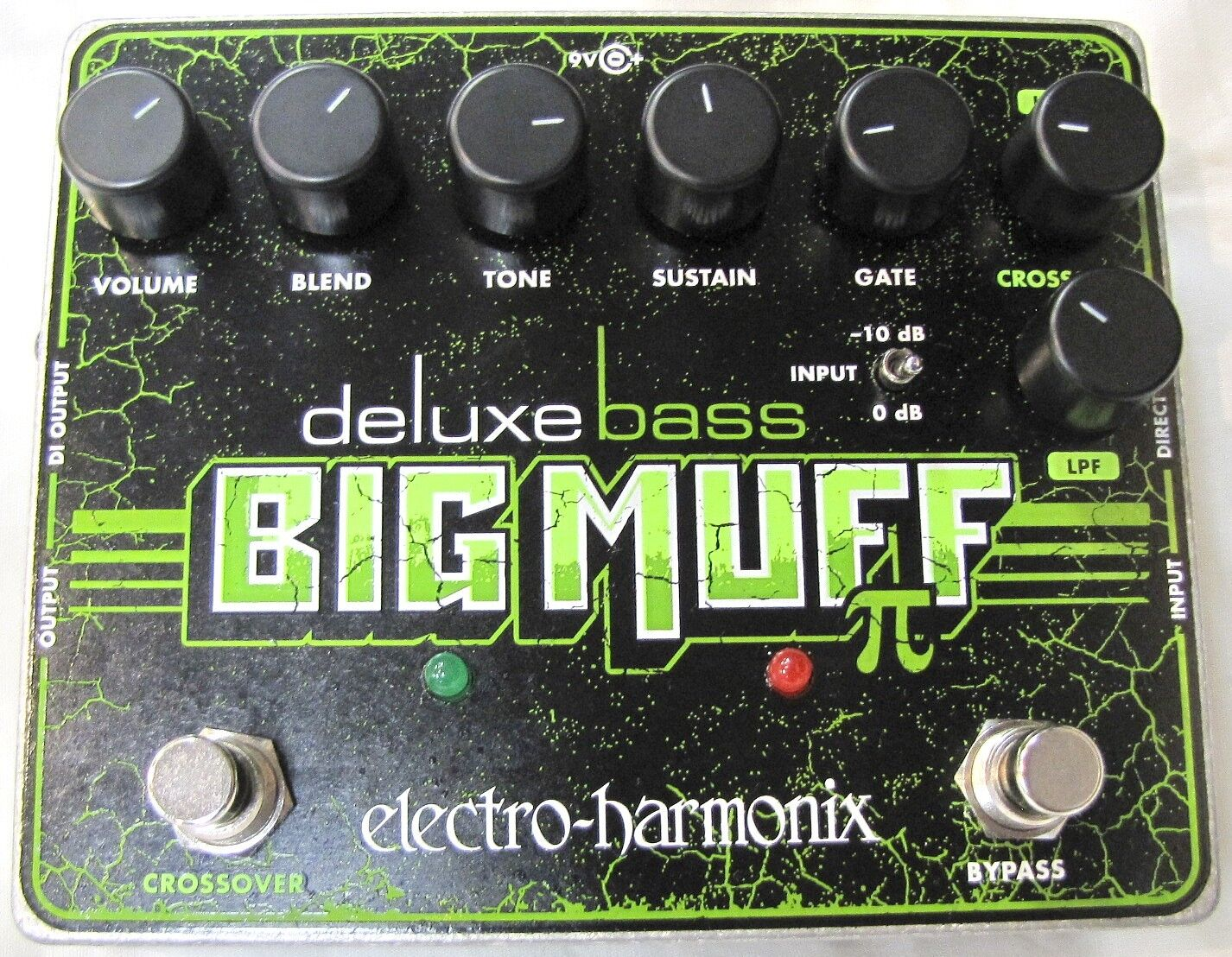 Used Electro Harmonix Ehx Deluxe Bass Big Muff Pi Distortion Guitar Effect Pedal 1 Of 1only 0 Available See More