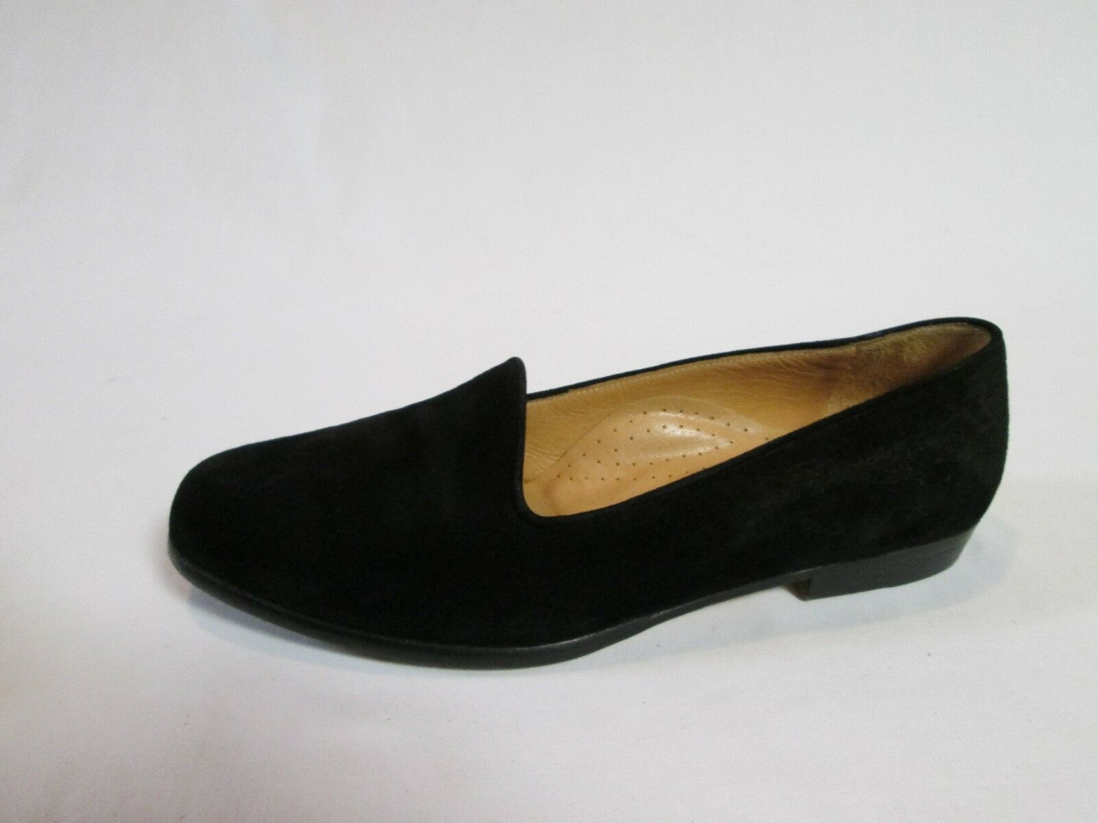 cole haan s shoes black slip on loafers suede