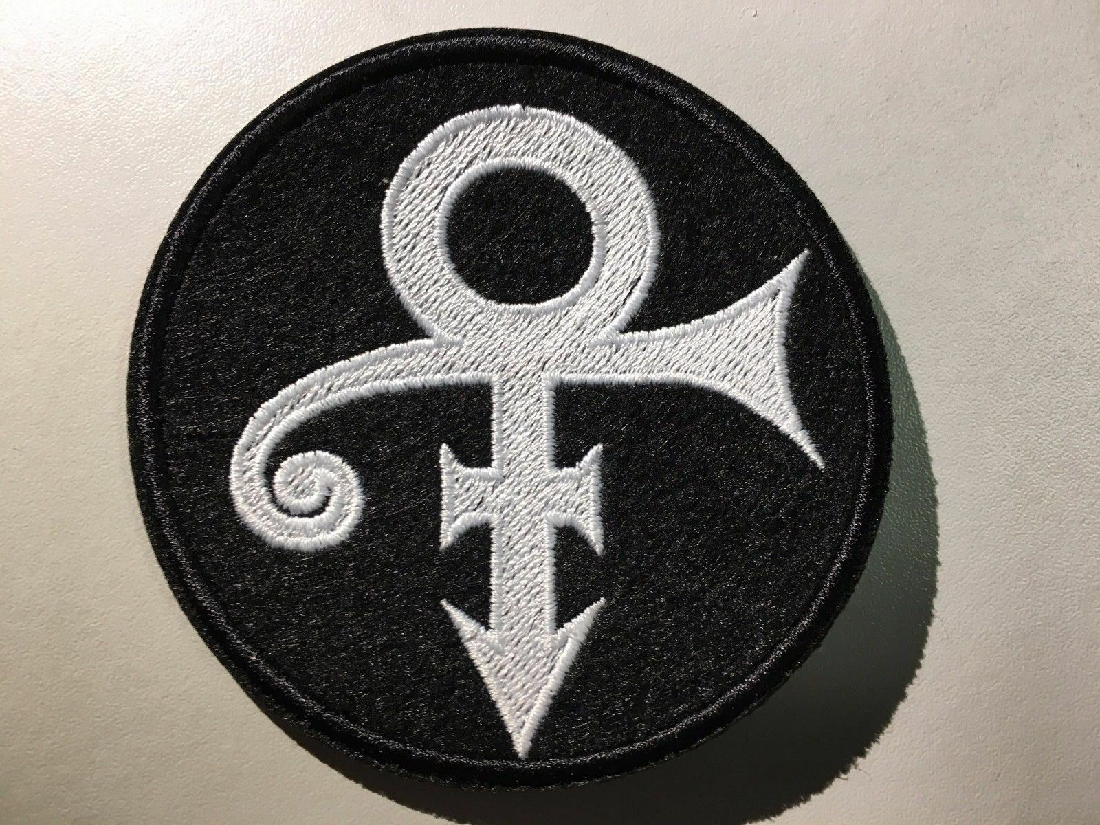 Prince The Artist Love Symbol Logo Patch Embroidered Iron On Patch