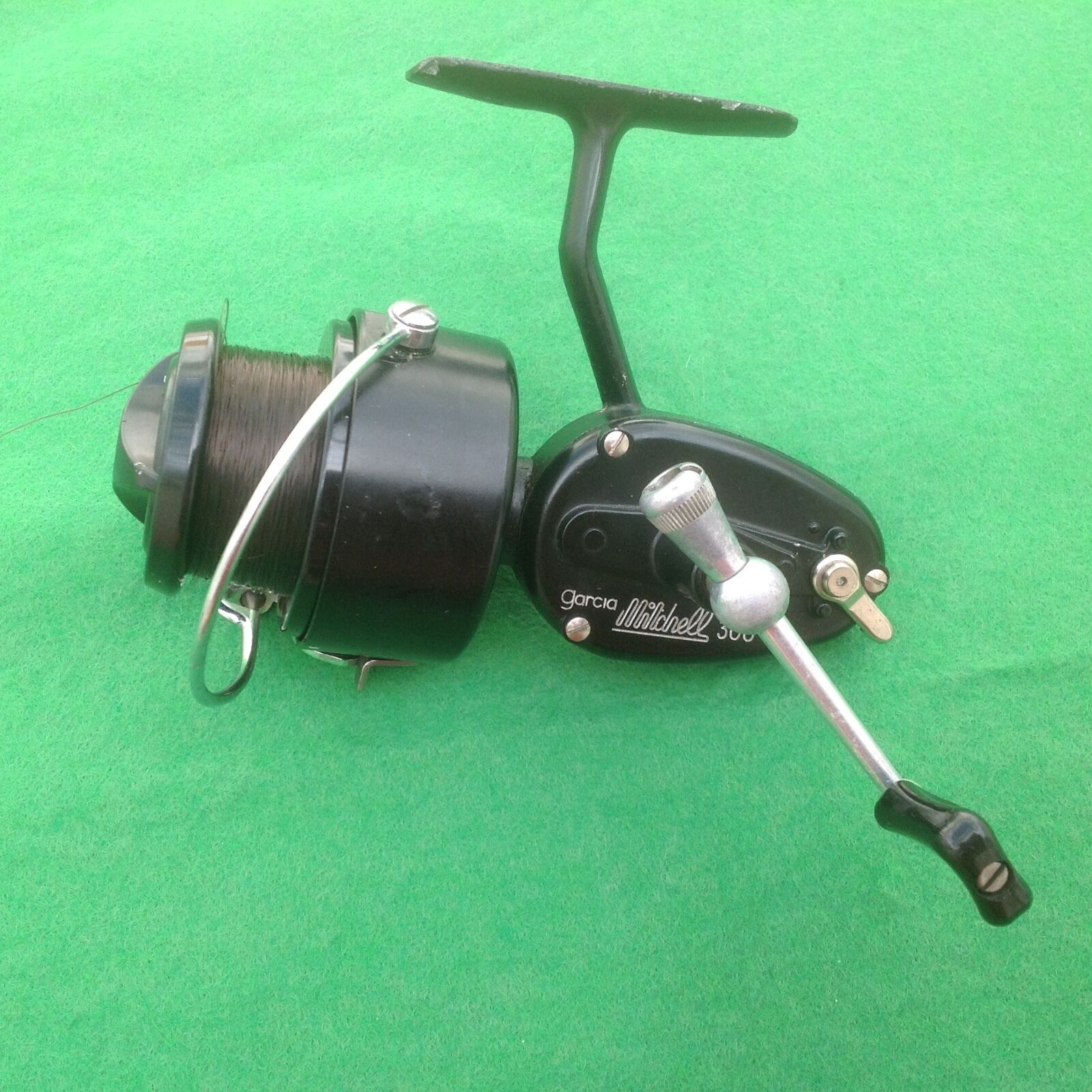 Vintage mitchell 300 fishing reel plus spare spool 24 for Old mitchell fishing reels