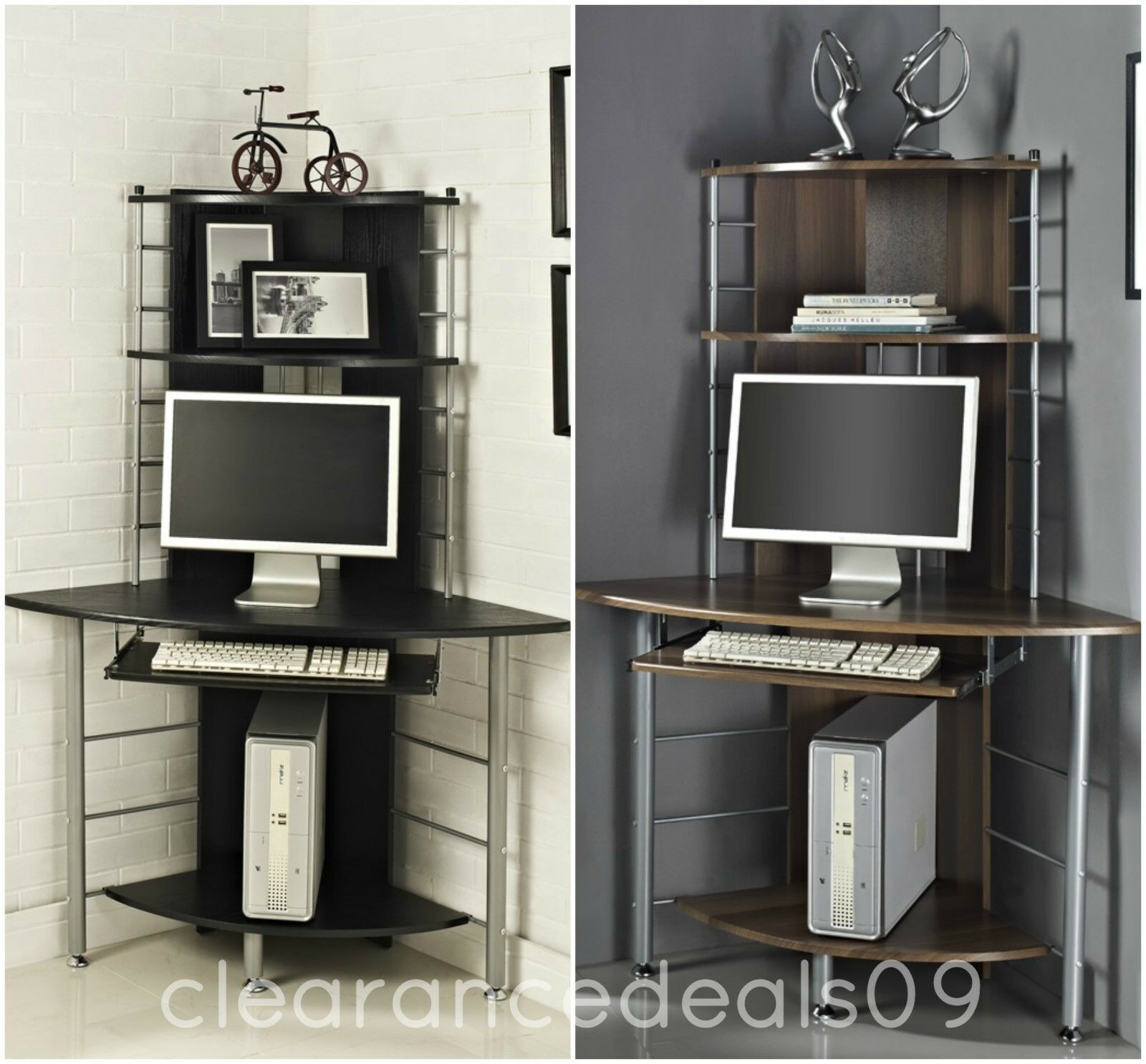 eck computertisch pc tisch eckschreibtisch b rotisch. Black Bedroom Furniture Sets. Home Design Ideas