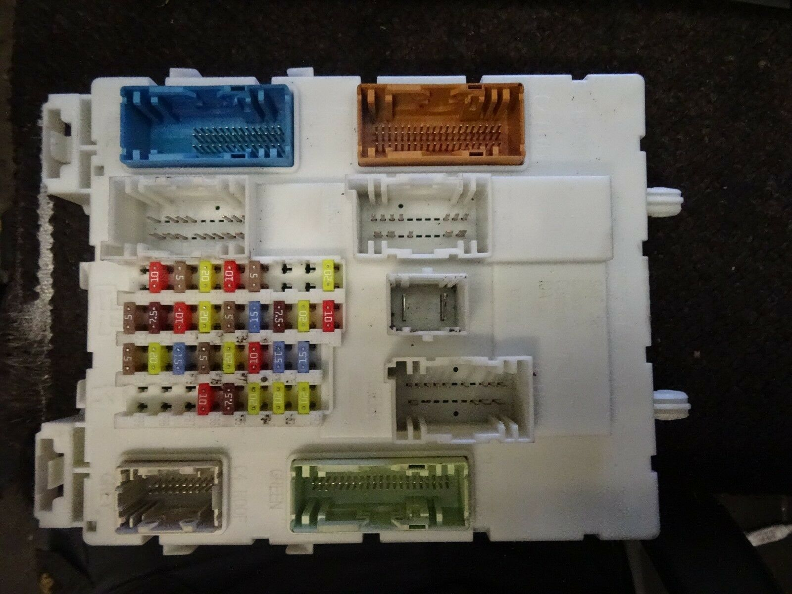 2011 ford focus fuse box