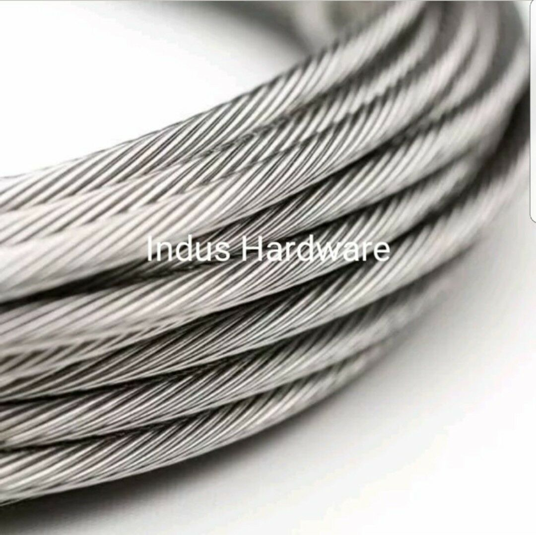 STAINLESS STEEL T316L Cable Railing, 1/8\