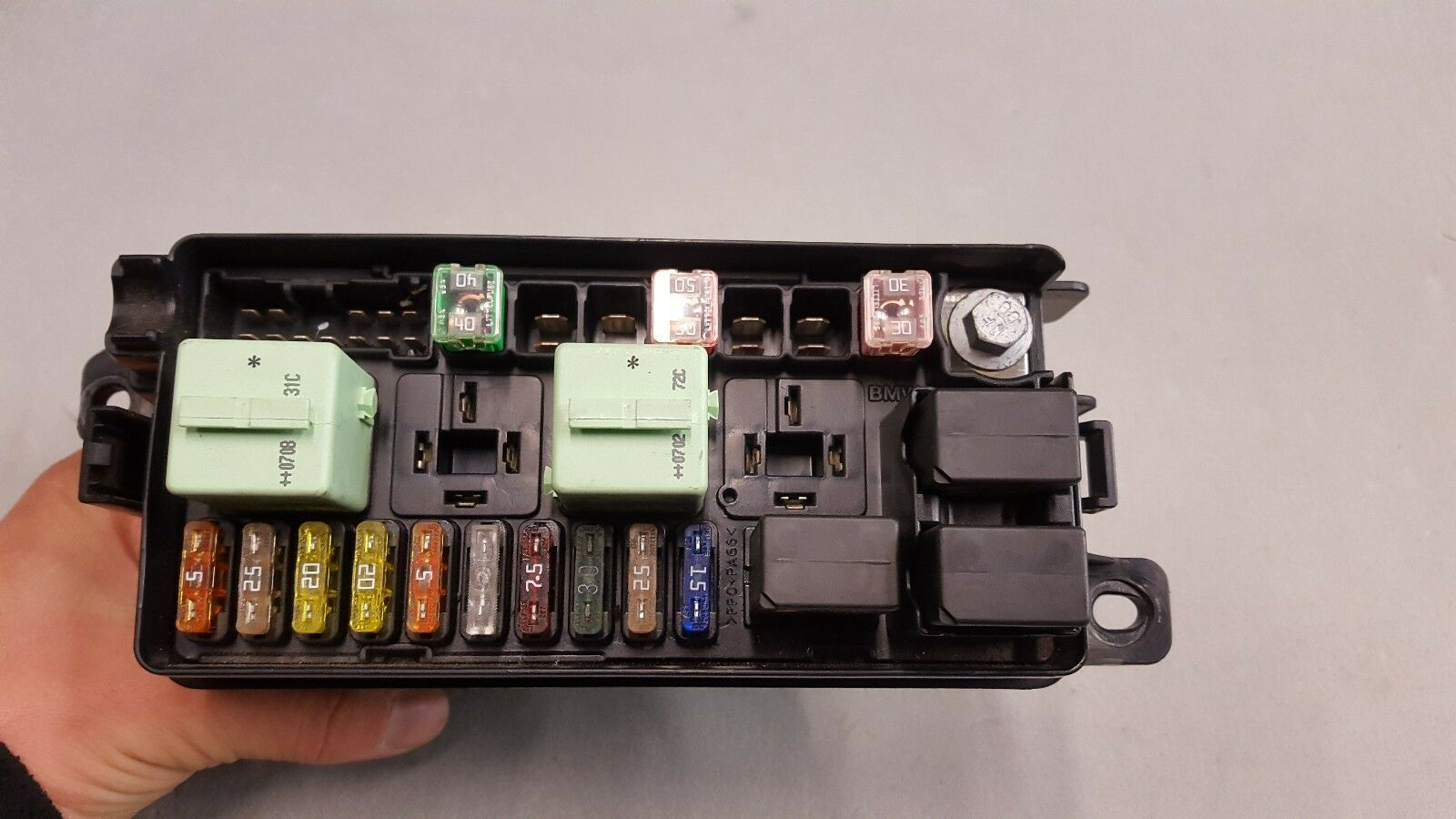 2007 2013 Mini Cooper One R56 Engine Bay Fusebox With Relays 3449504 Fuse Box 01 1 Of 3free Shipping See More