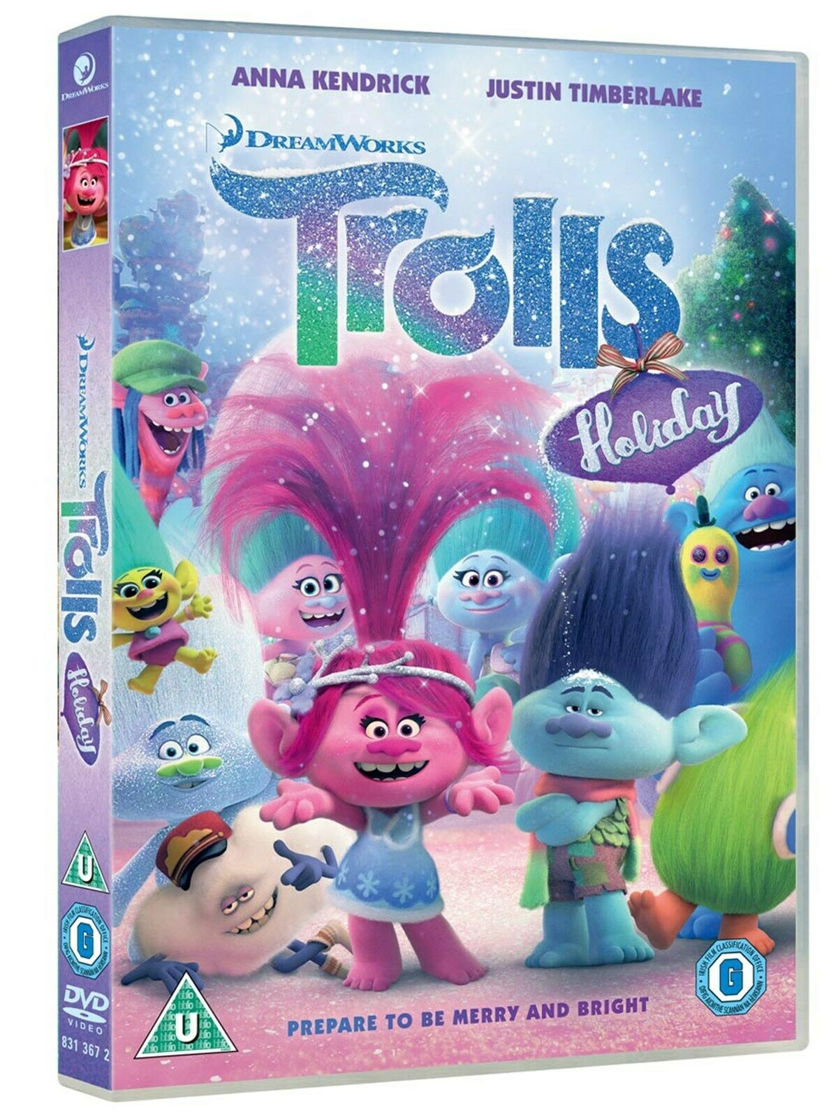 Trolls Holiday On Nbc >> Trolls Holiday (Includes Free Poster) [DVD] • £5.00 - PicClick UK