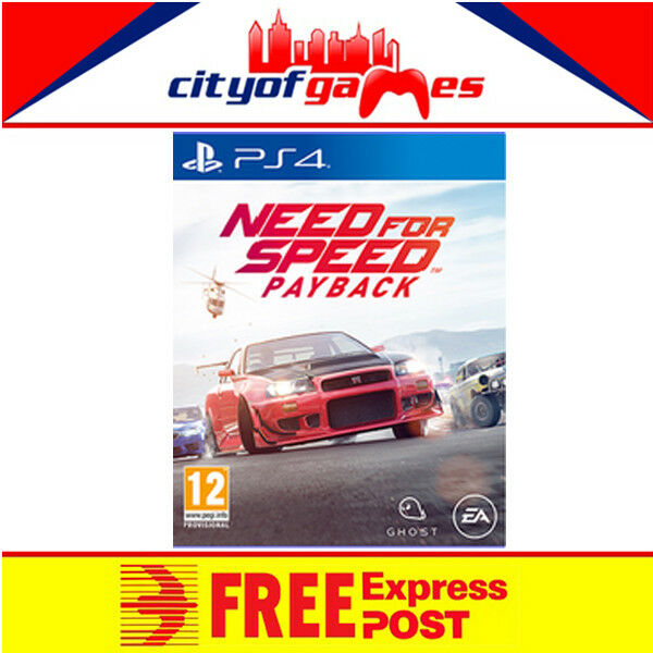 need for speed payback ps4 game new sealed free express post picclick au. Black Bedroom Furniture Sets. Home Design Ideas