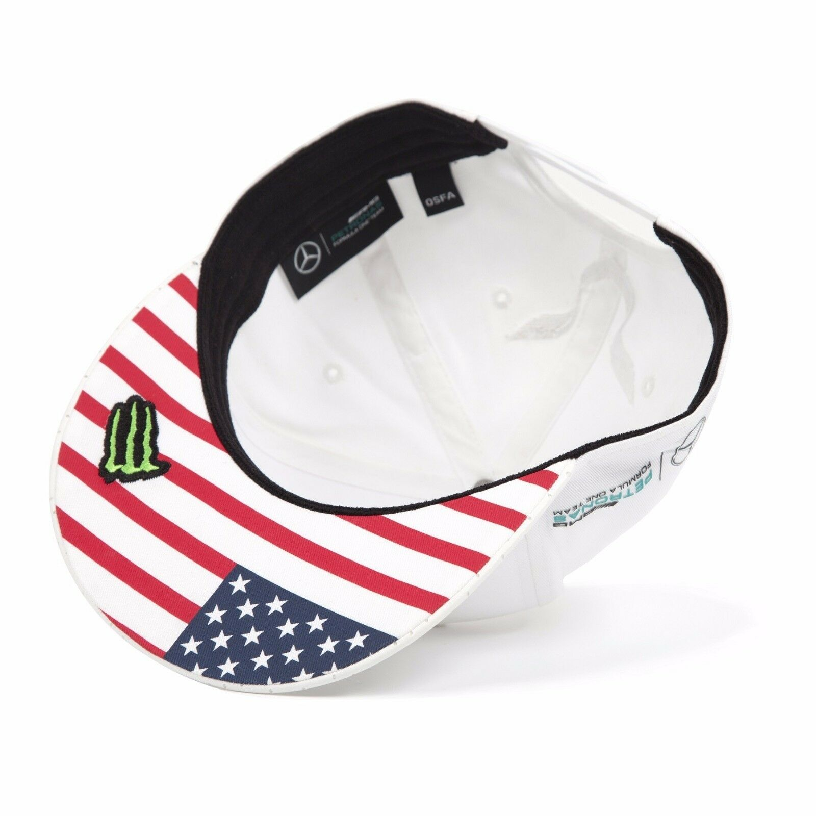 2017 official f1 mercedes amg lewis hamilton usa american for Mercedes benz hats usa