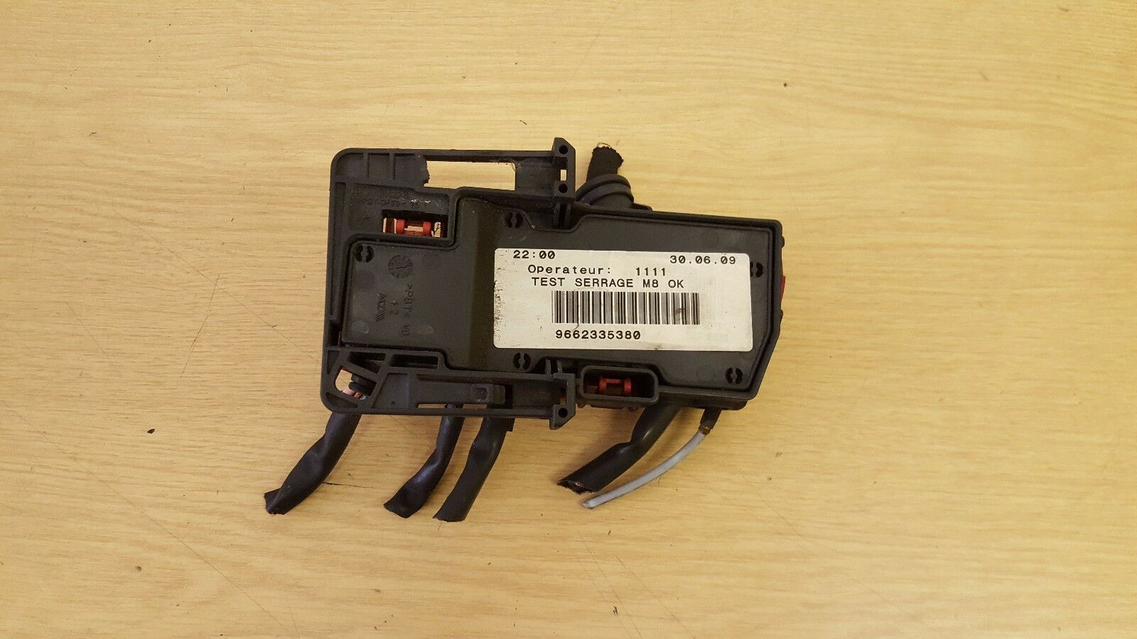 citroen c5 under bonnet fuse box