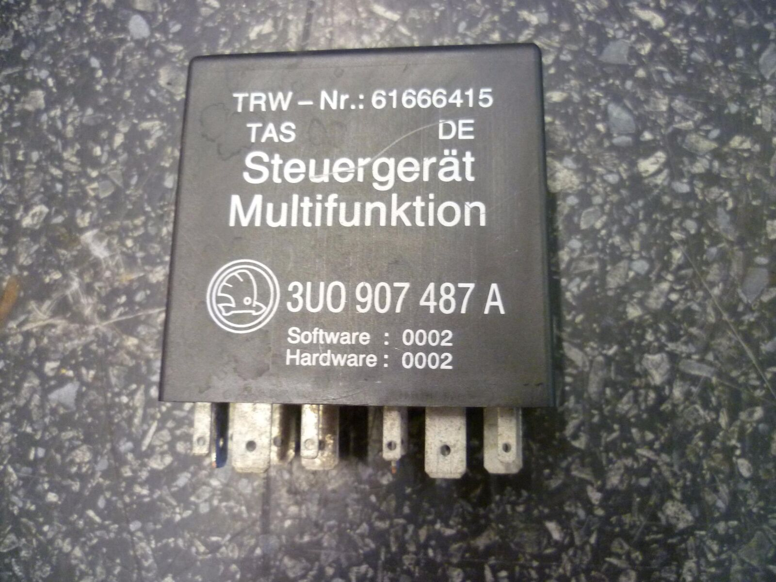 Skoda Superb Multi Function Steering Relay 3u0 907 487 A No 486 Estate Fuse Box 1 Of 1only Available