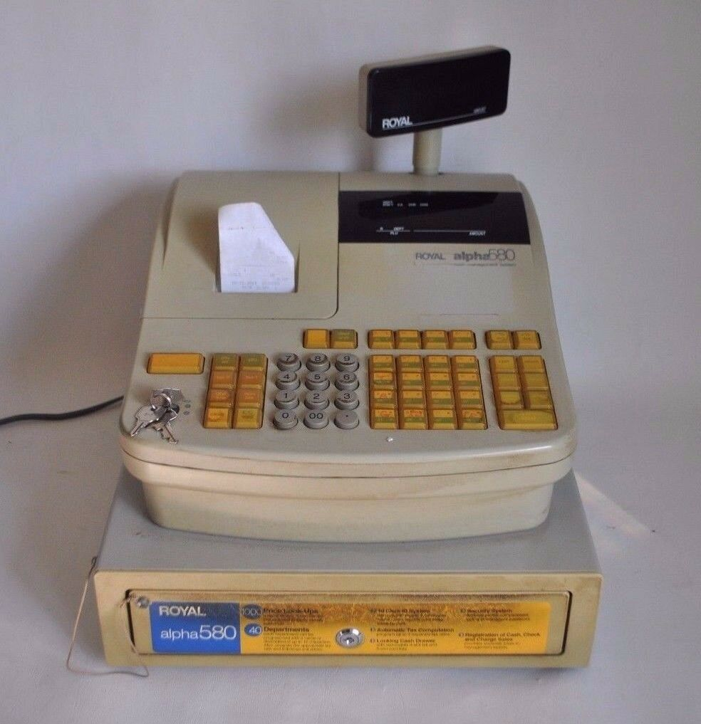 Royal Alpha 580 Cash Register Management System Keys Instructions POS 1 of  10Only 1 available See More