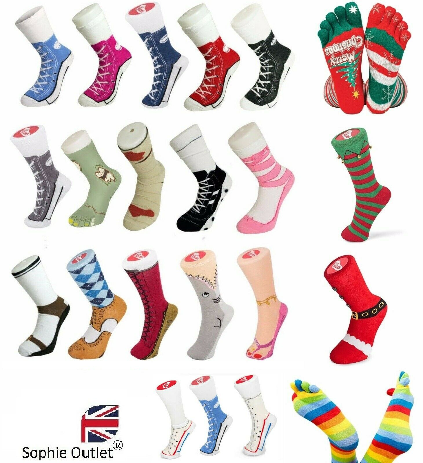 cosy silly socks ladies mens girls boys christmas socks fancy dress boot slipper 1 of 1free shipping see more