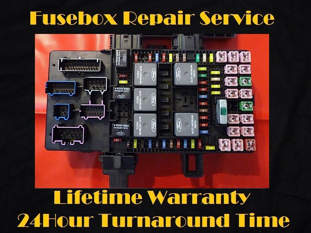 2003 2006 Ford Expedition Fuse Box Fuel Pump Relay Unit Repair Trailblazer Fan 1 Of 1free Shipping