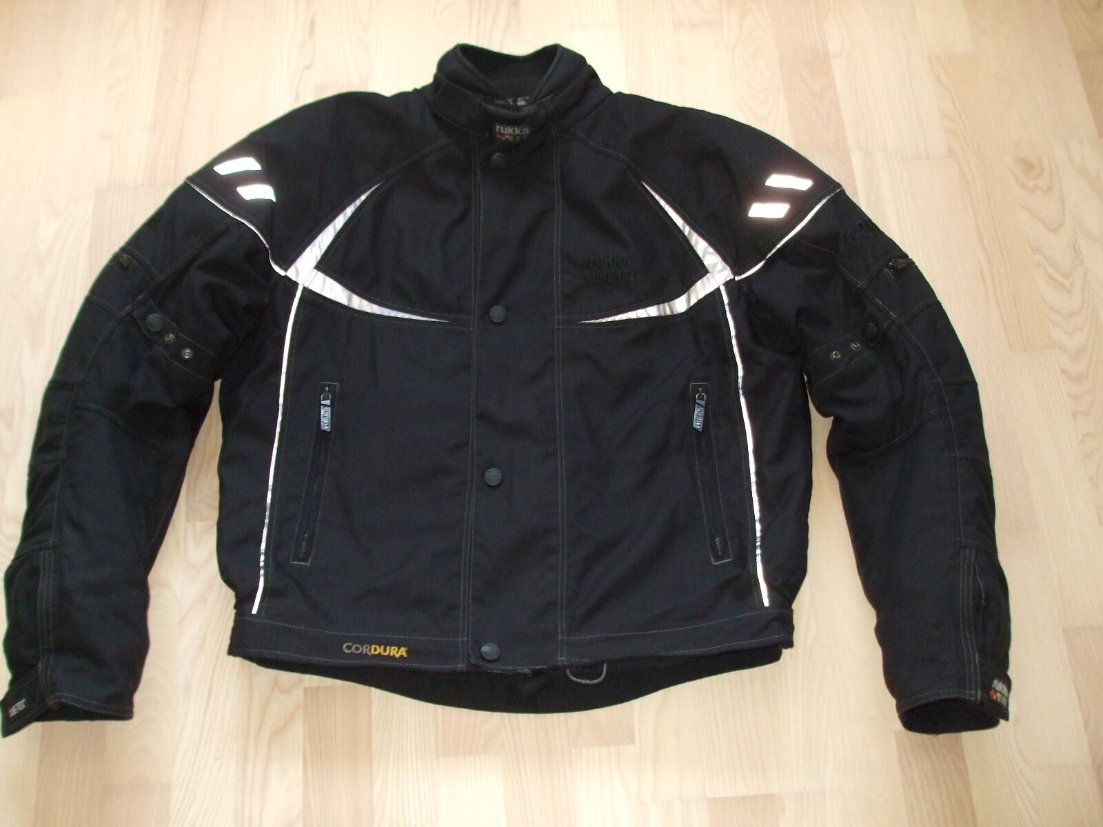 herren motorradjacke rukka gr 54 gore tex eur 199 99. Black Bedroom Furniture Sets. Home Design Ideas