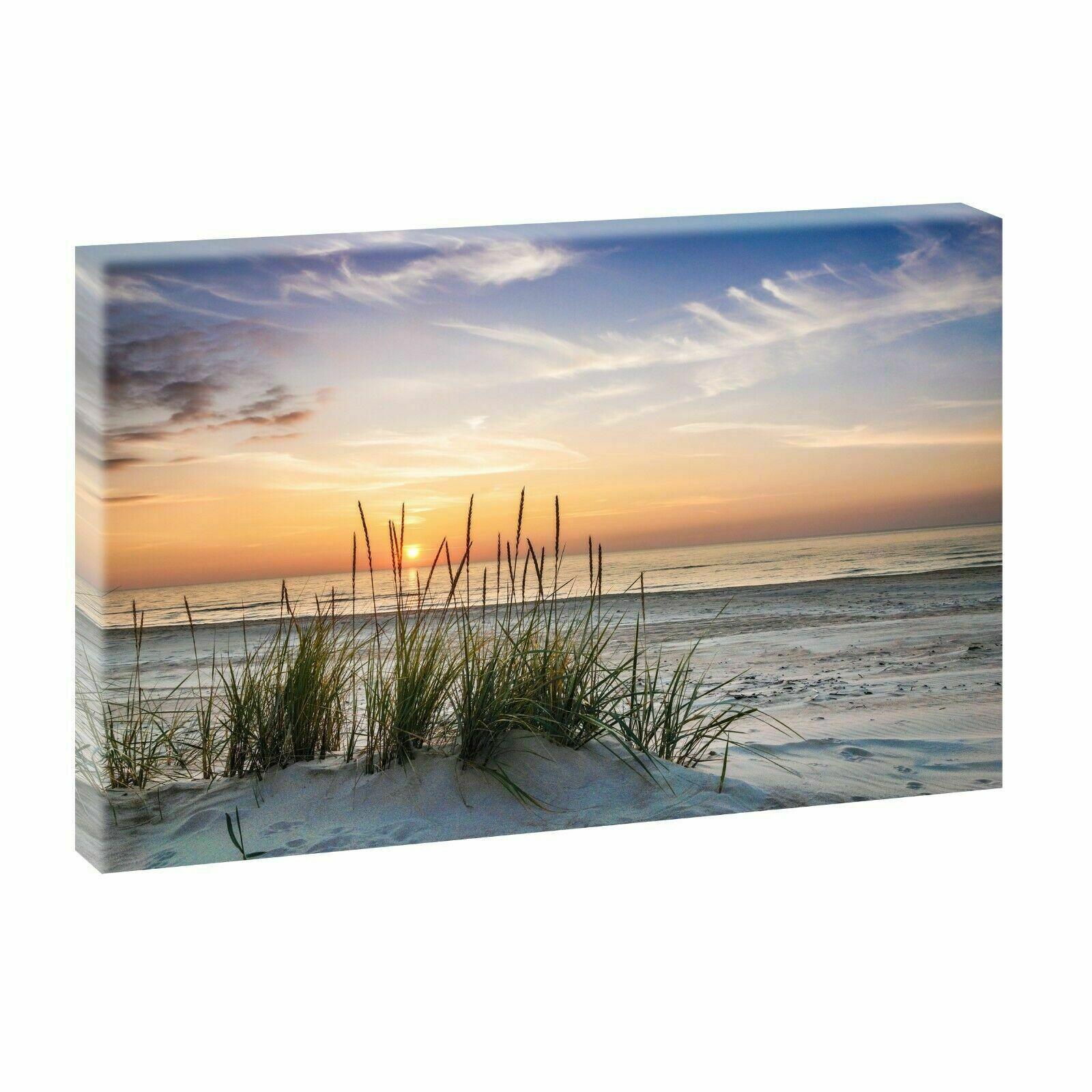 bilder auf leinwand keilrahmen poster wandbild strand meer xxl 100 cm 65 cm 728 eur 29 90. Black Bedroom Furniture Sets. Home Design Ideas