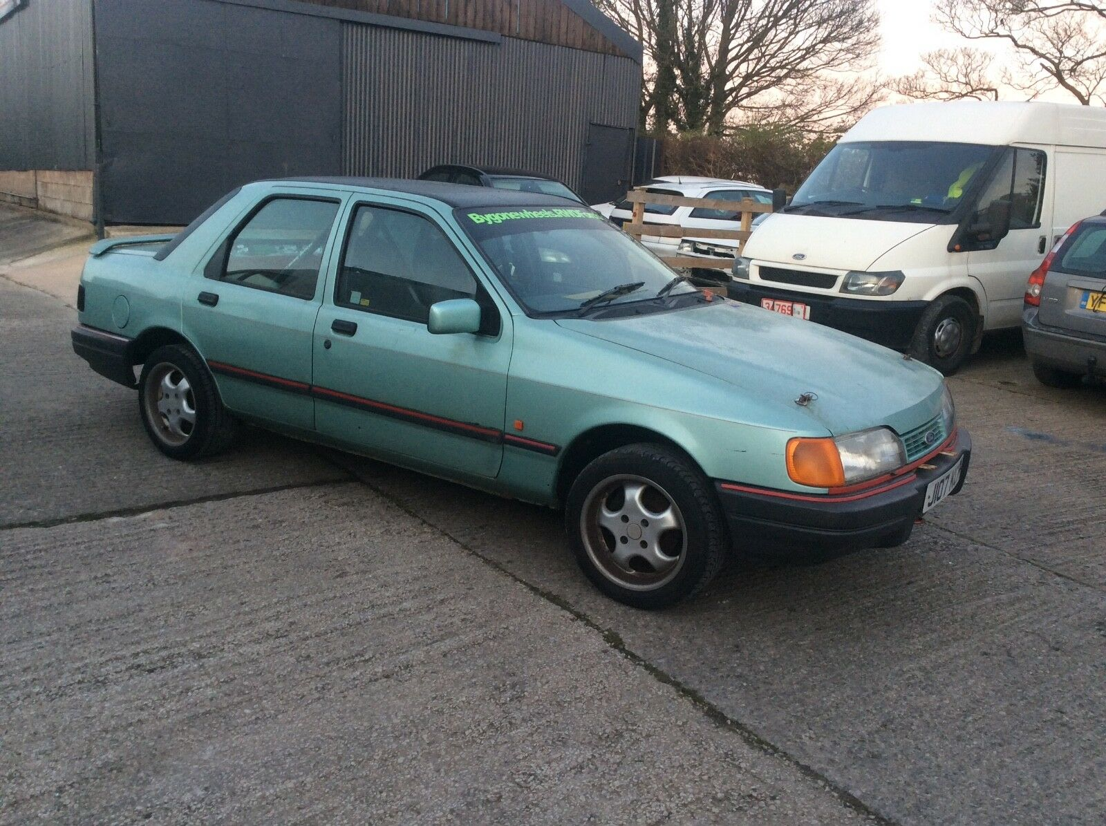 FORD sierra sapphire road rally pinto barn find - £1,995.00 ...