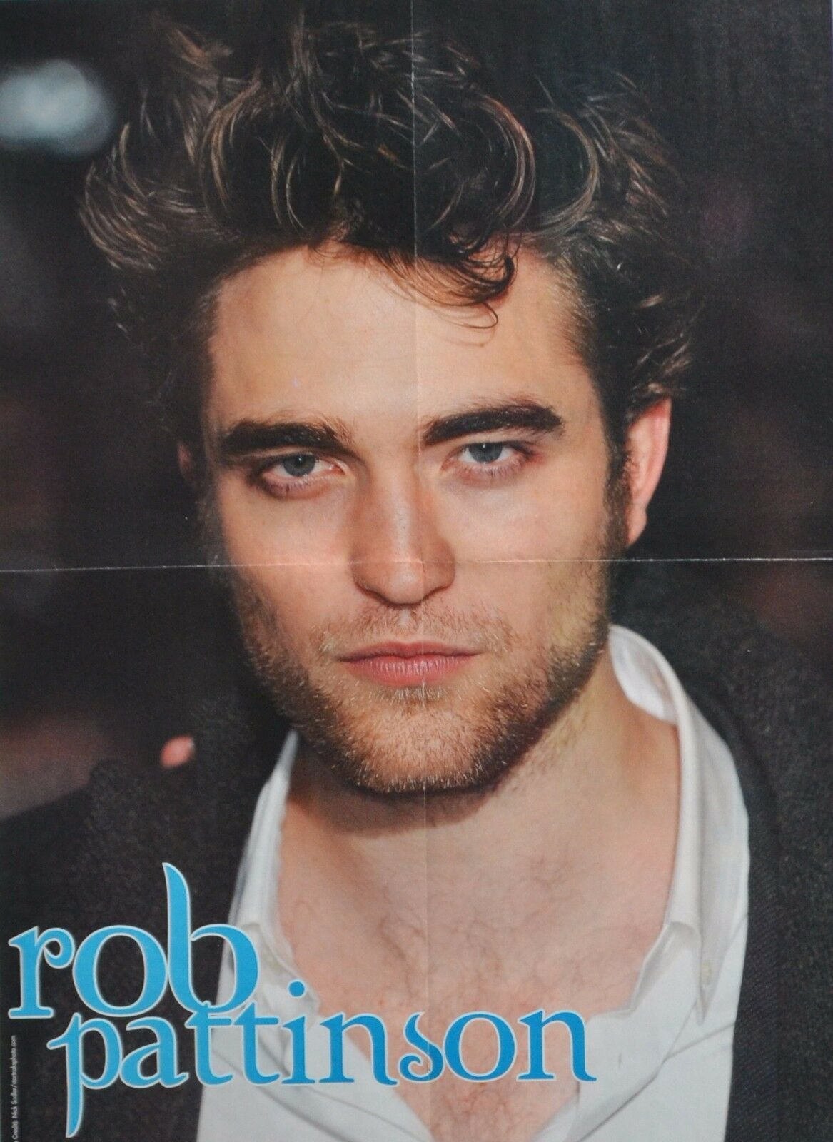 2087 Celebrity Poster Poster Print A0 A1 A2 A3 A4 ROBERT PATTINSON CLOSE UP