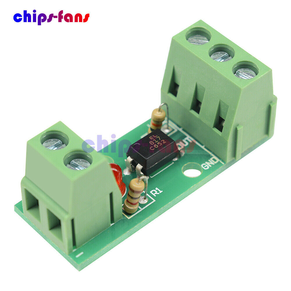 12v 1 Channel Optocoupler Isolation 80khz Module Board No Din Rail 12220v Ac And Dc Lcd Digital Circuit Tester Pen Slotted Screwdriver Of 8only 5 Available