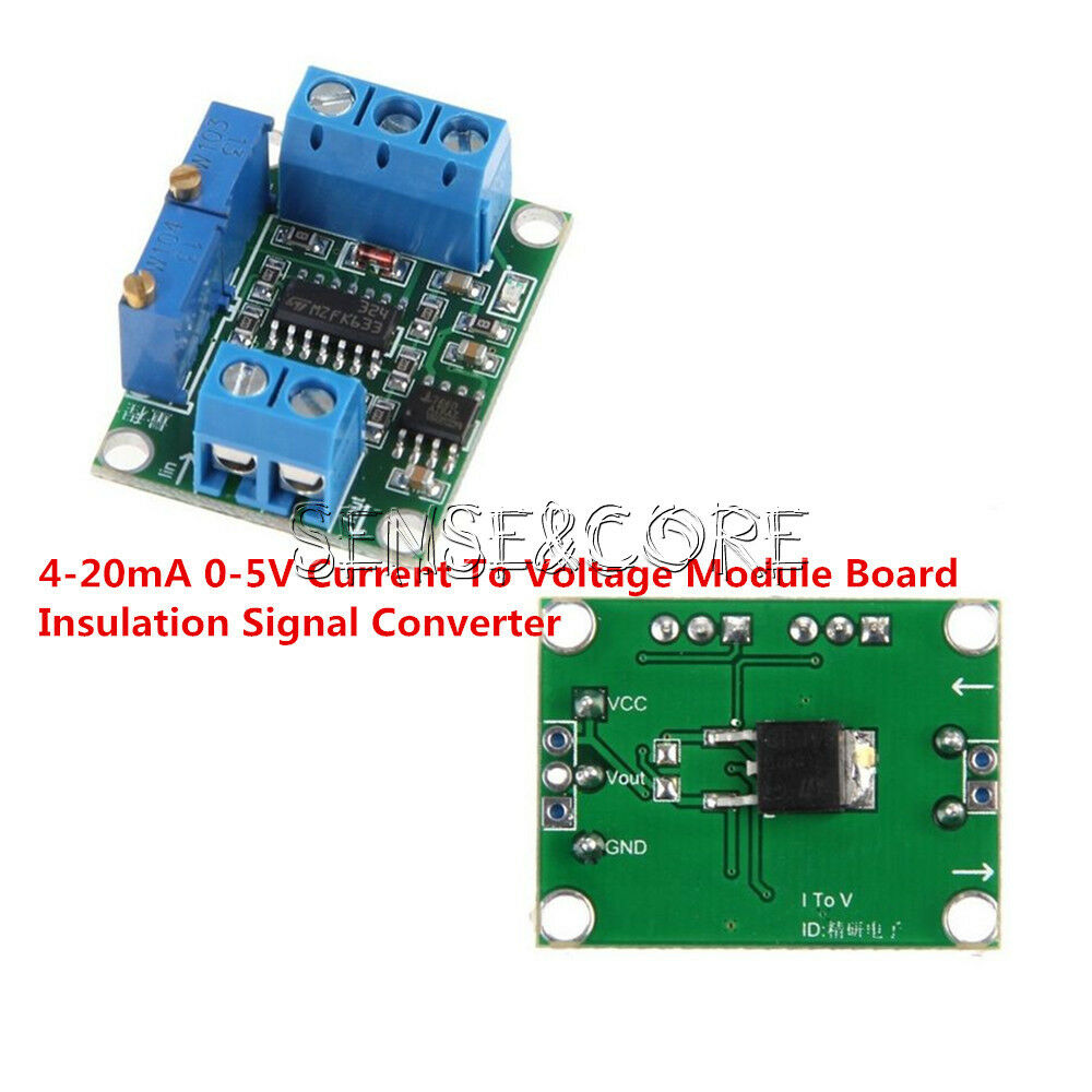 4 20ma 0 5v Current To Voltage Module Board Insulation Signal Converter 1 Von 6nur 5 Verfgbar