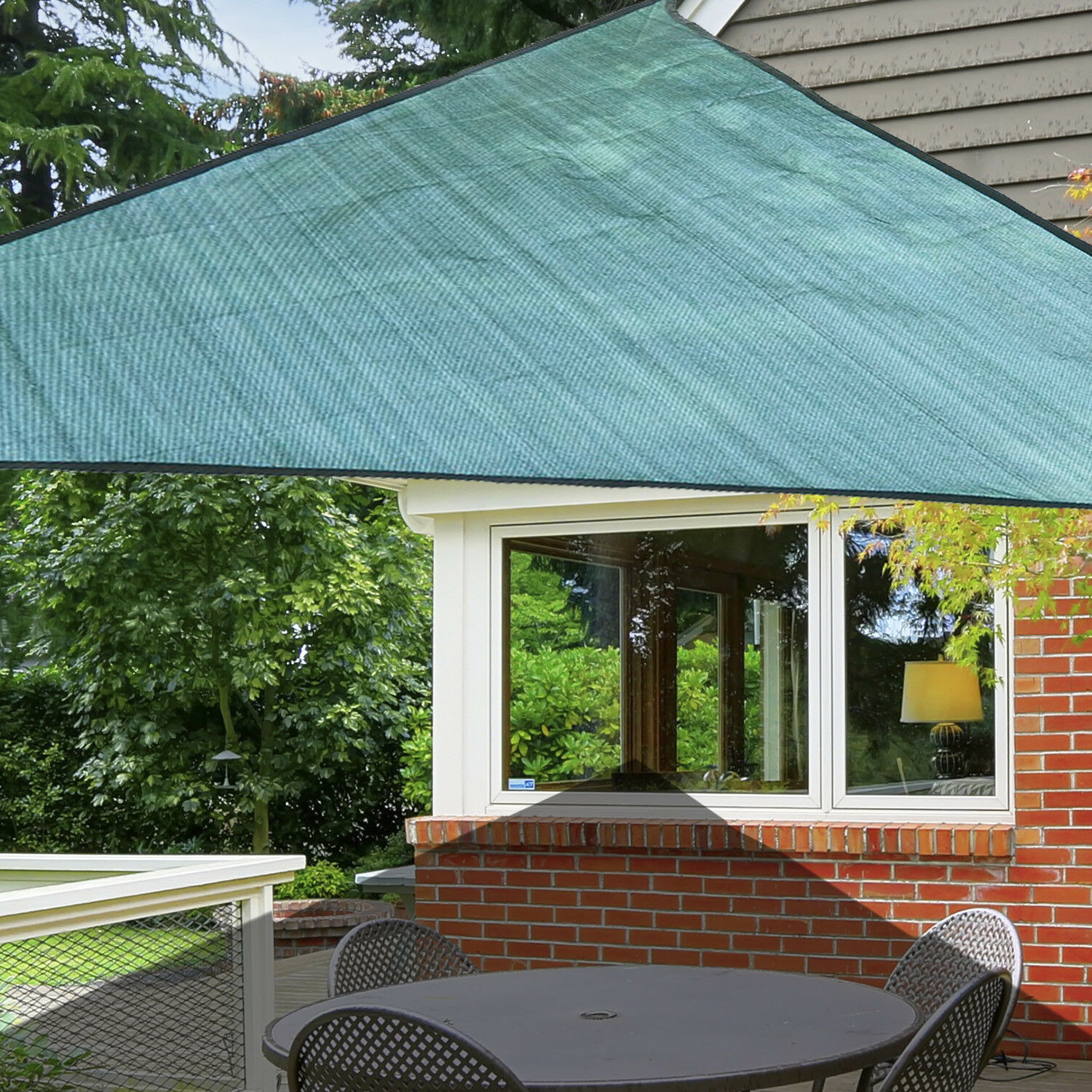 canopy arm window outdoor shelter manual awning drop retractable outsunny sunshade door living
