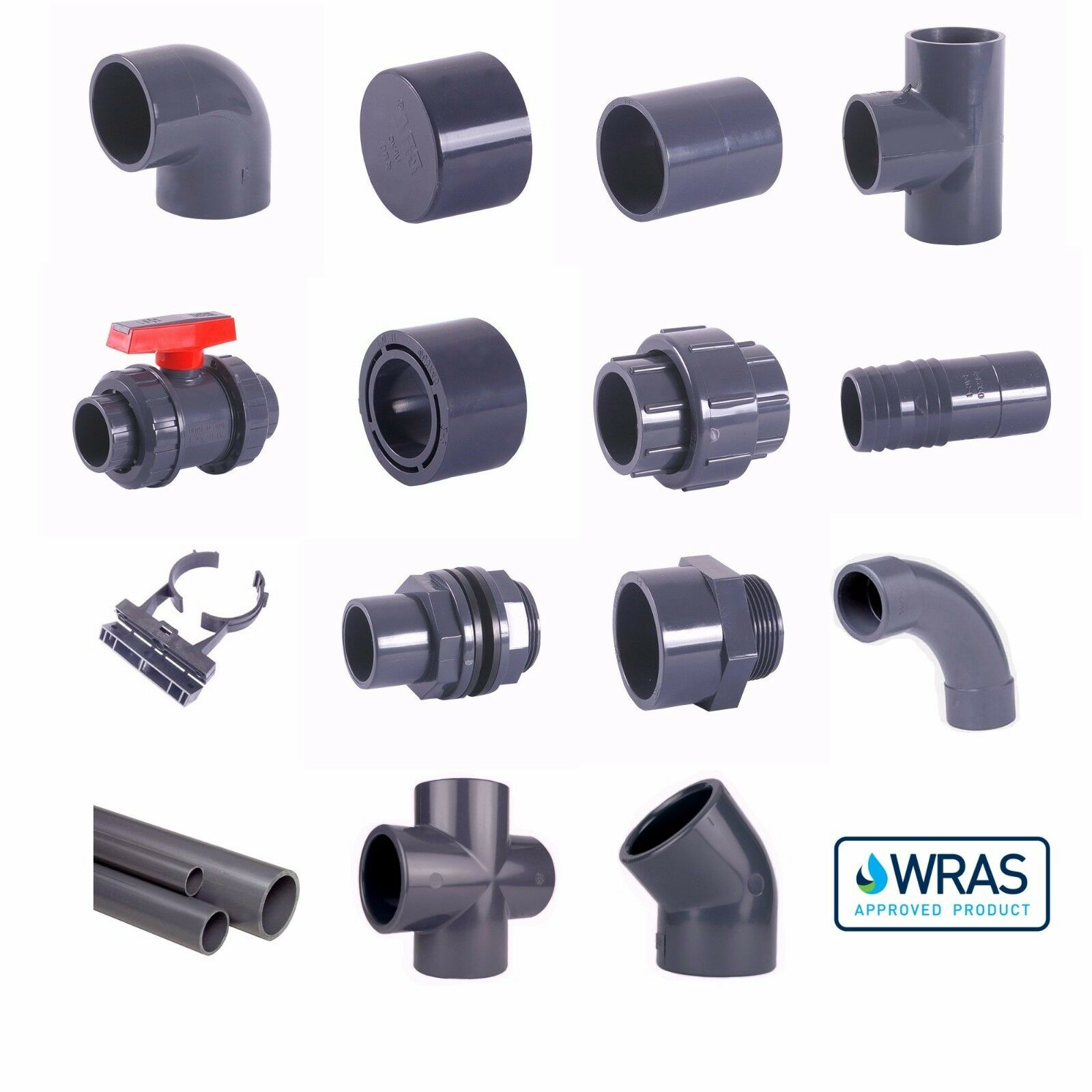 PVC Metric Solvent Weld Pressure Pipe Fittings 12mm to 75mm OD Marine Aquariums 1 di 12 PVC Metric Solvent Weld Pressure Pipe Fittings ...  sc 1 st  PicClick IT & PVC METRIC SOLVENT Weld Pressure Pipe Fittings 12mm to 75mm OD ...