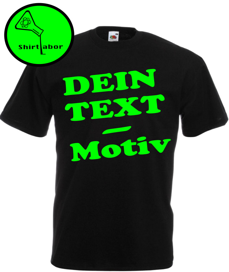 dein text wunschtext tshirt bedrucken vorne hinten selbst gestalten wunschdruck eur 10 90. Black Bedroom Furniture Sets. Home Design Ideas