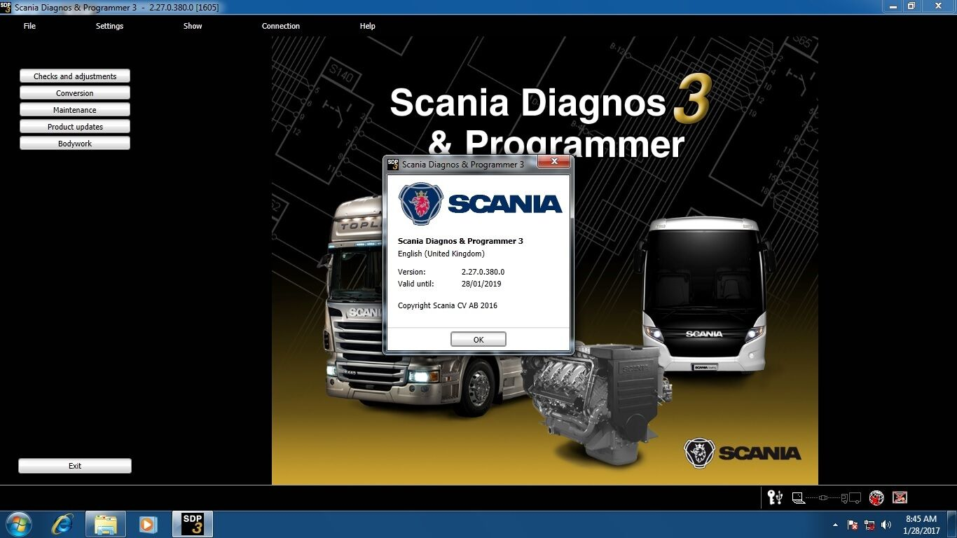 Scania Sdp3 227 2500 Picclick 124 Wiring Diagram 1 Of 1only 4 Available