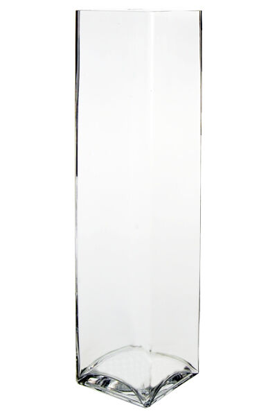 20 Inch Tall Square Clear Glass Vases Open 475x 475 Wedding