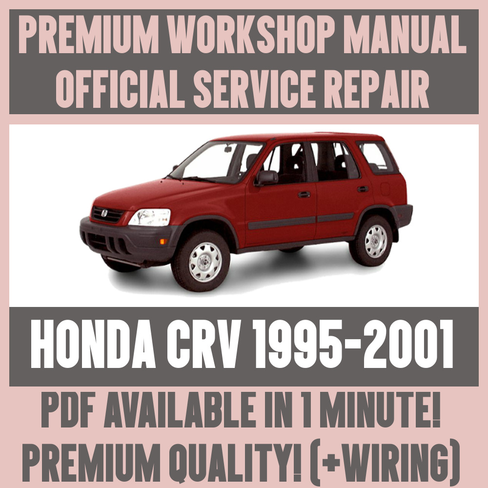 Workshop Manual Service Repair Guide For Honda Crv 1995 2001 19962000 Civic Electrical Troubleshooting Original 1 Of 5free Shipping