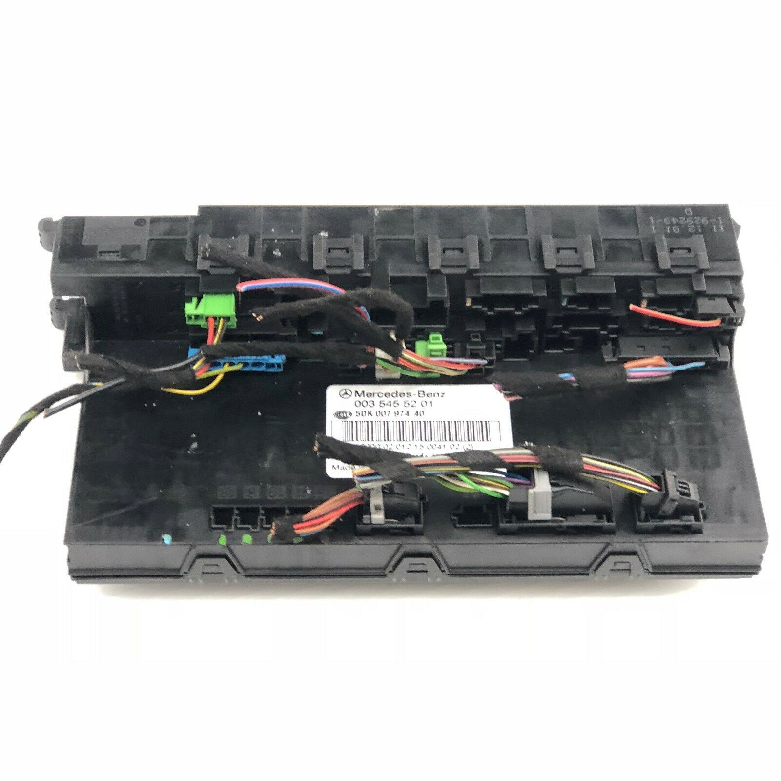 2002 - 2006 Mercedes-Benz C230 SAM Fuse Box Control Module P: 003 545 1 of  1Only 1 available ...