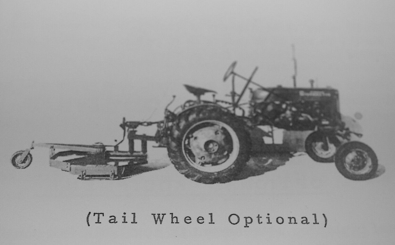 Woods 1pt Fast Hitch 42F-II Mower Manual IH Farmall Cub 140 Super A Cub 1  of 5Only 2 available ...