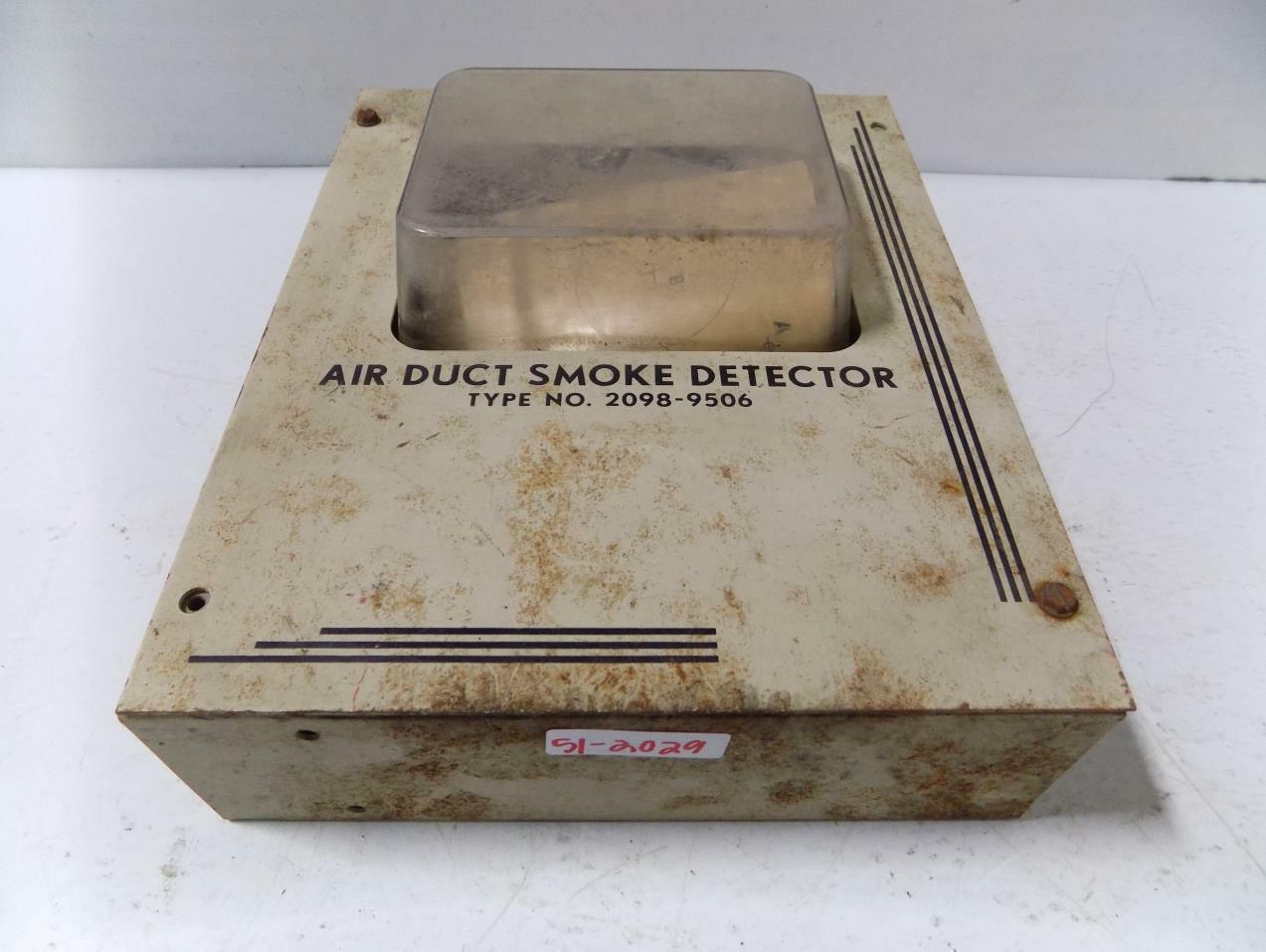 Simplex Duct Detector Housing 2098 9506 4999 Picclick Smoke Wiring Diagram 1 Of 3only Available