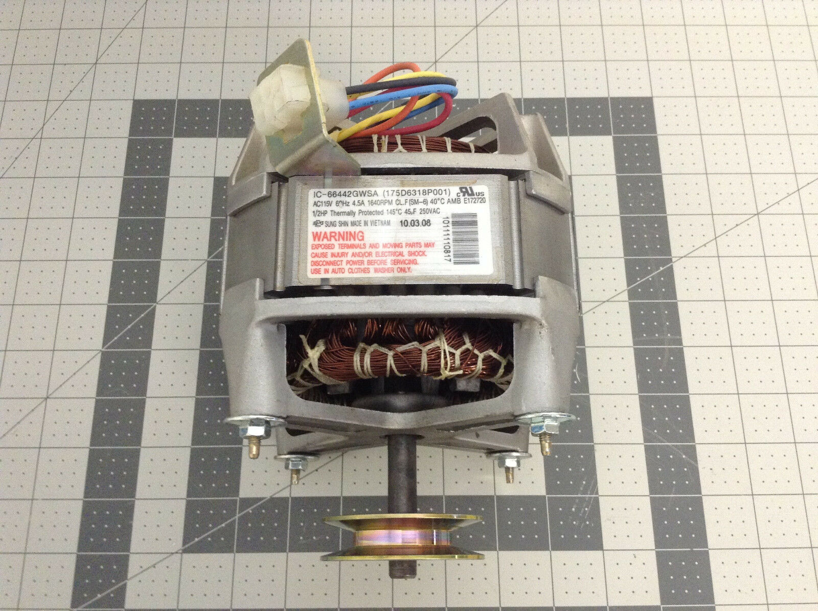 Machine Diagram Motor Washing Wiring 175d6318p001 Electric D P On Parts Capacitor