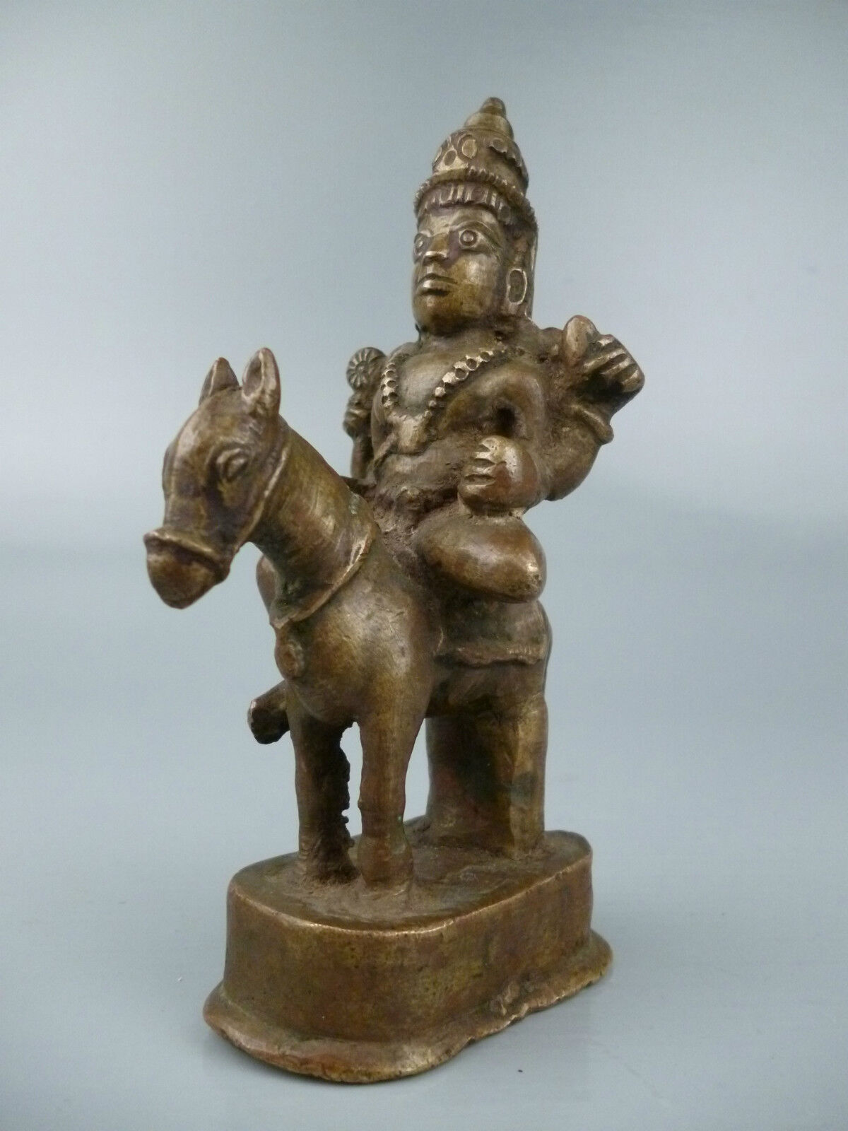 OLD OR Antique Indian Bronze from an Estate - Hindu God Shiva ...