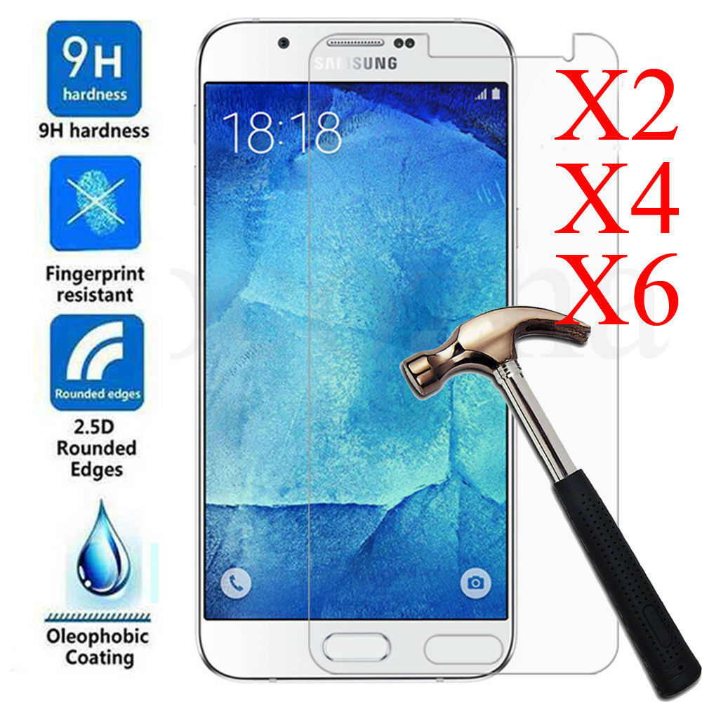 6pcs 9h Premium Tempered Glass Screen Protector For Samsung Galaxy Full Color J3 Pro Cover J5 J7 2017 1 Of 9free Shipping