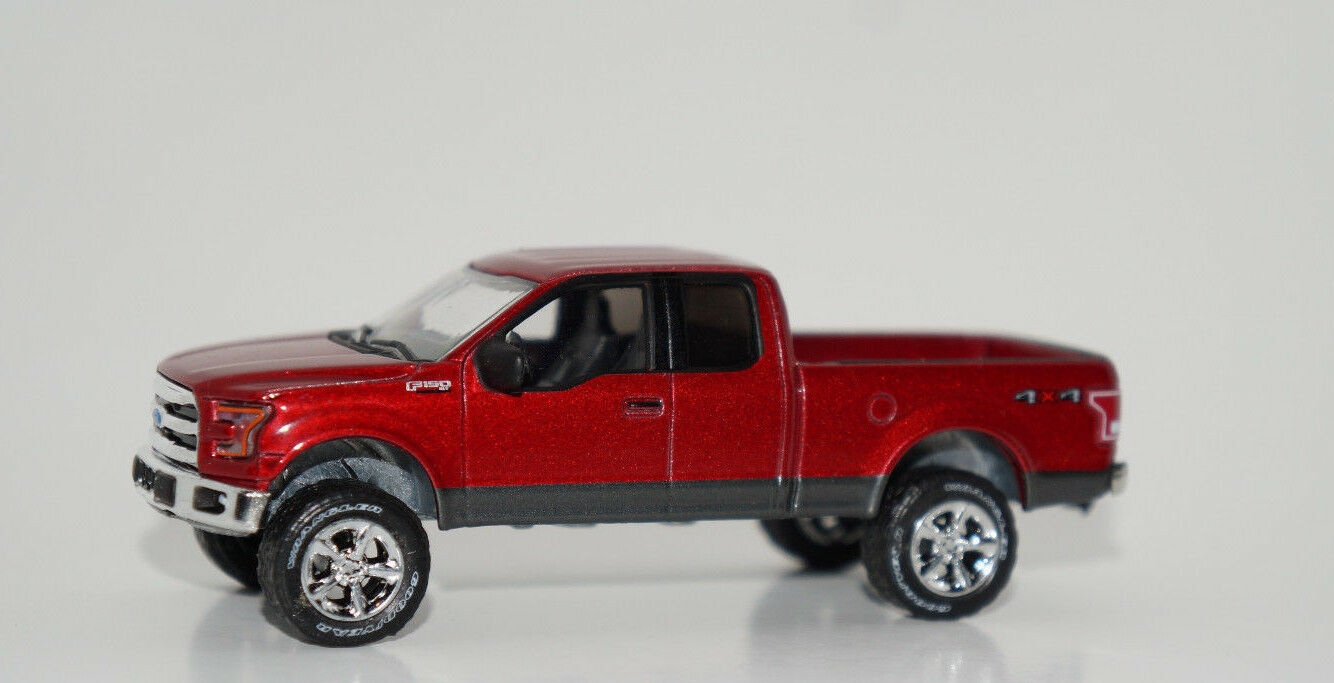 Custom Lifted 2015 Ford F 150 Pickup Truck 4x4 1 64 Scale Dcp 1955 F100 White Of 3 See More
