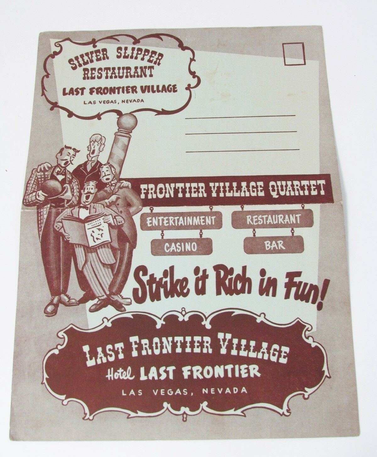 The last frontier casino restaurant menu that was a crazy game of poker lyrics meaning