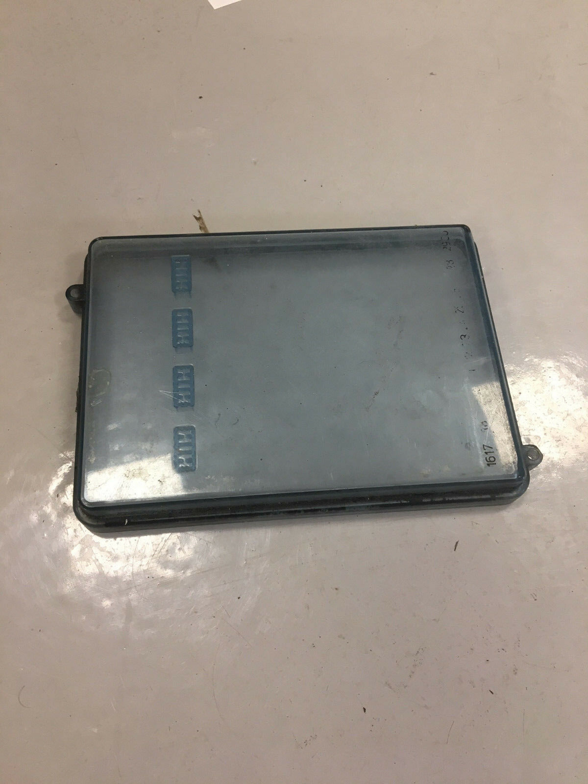 BMW E30 Fuse Box Cover 1 of 2Only 1 available ...