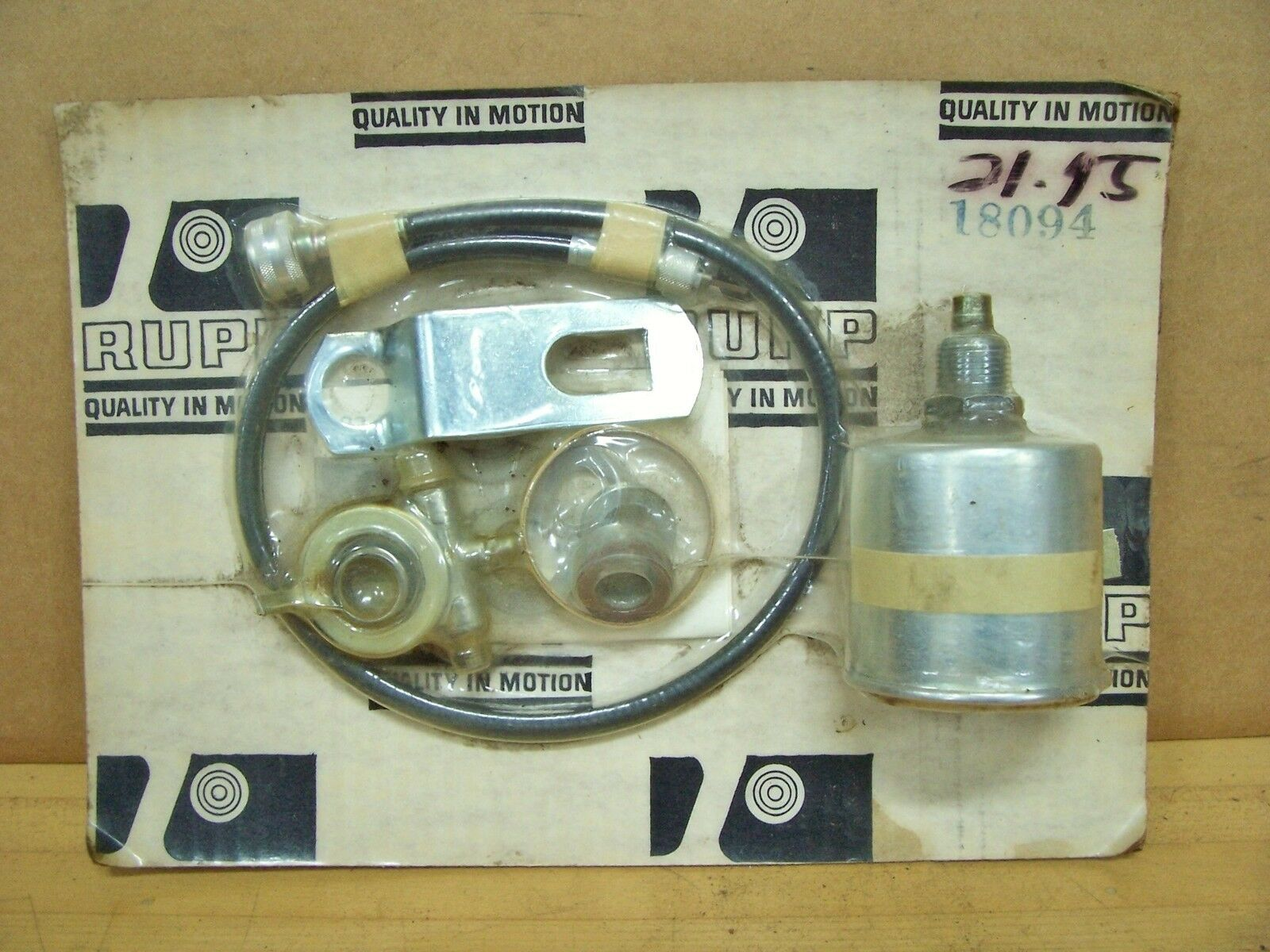Vintage NOS Original Rupp Minibike Speedometer Kit Assembly Black Widow  Roadster 1 of 4FREE Shipping ...