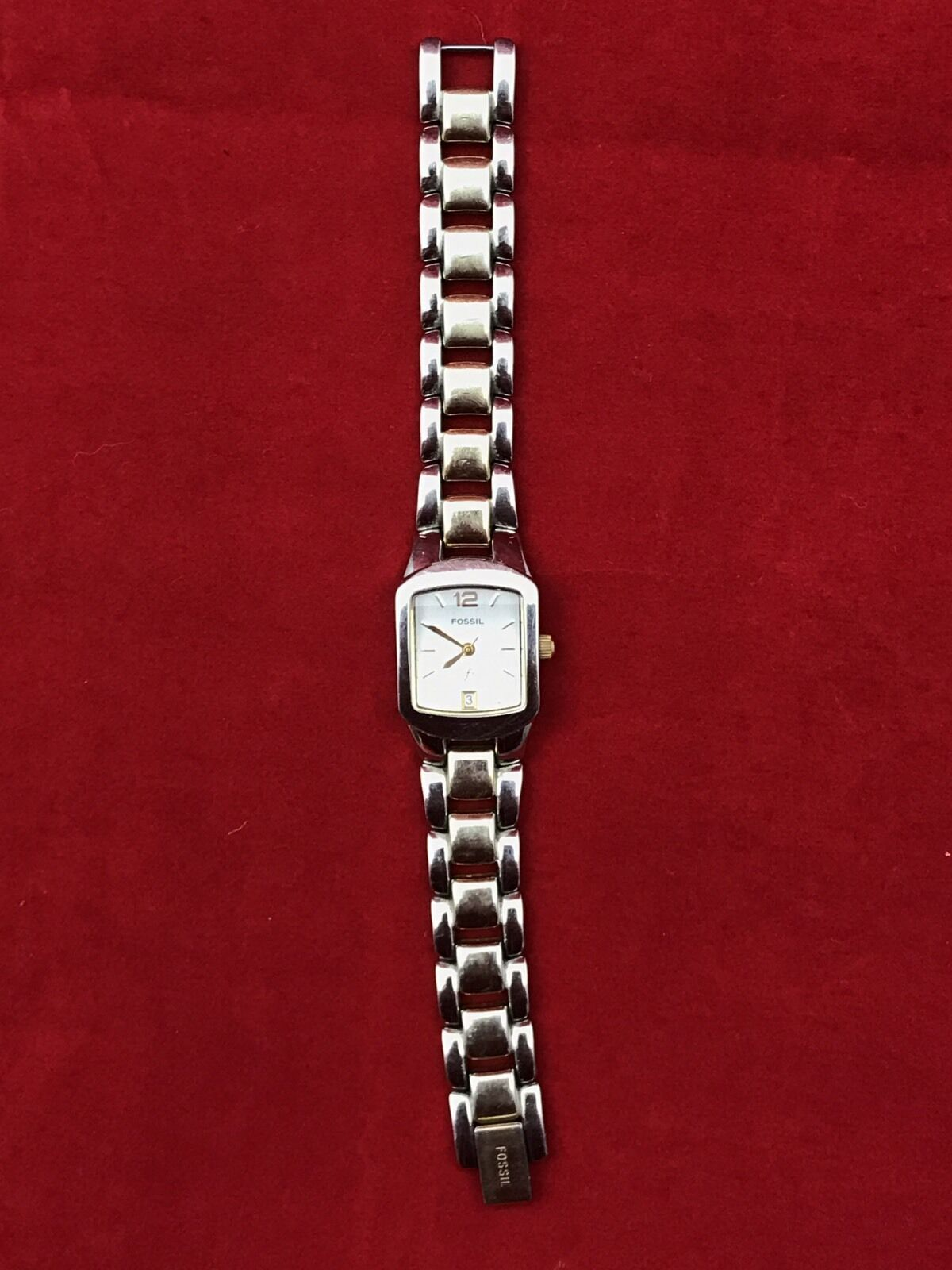 Fossil F2 Womens Two Tone Stainless Steel Watch Es9666 1250 Virginia And Acetate Es 3918 1 Of 4only Available