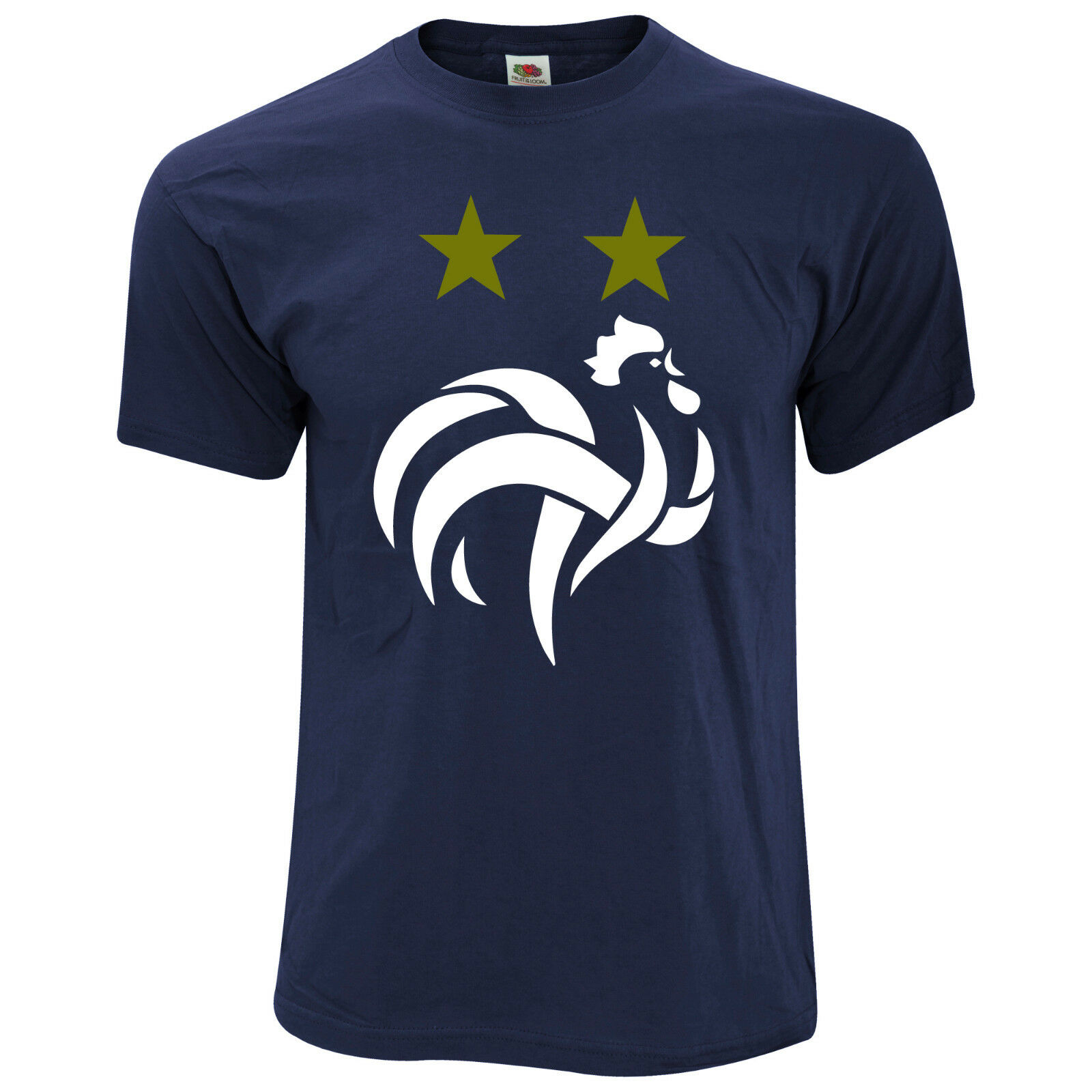 t shirt coupe du monde 2018 2 toiles champion football mbappe griezmzann eur 19 99. Black Bedroom Furniture Sets. Home Design Ideas