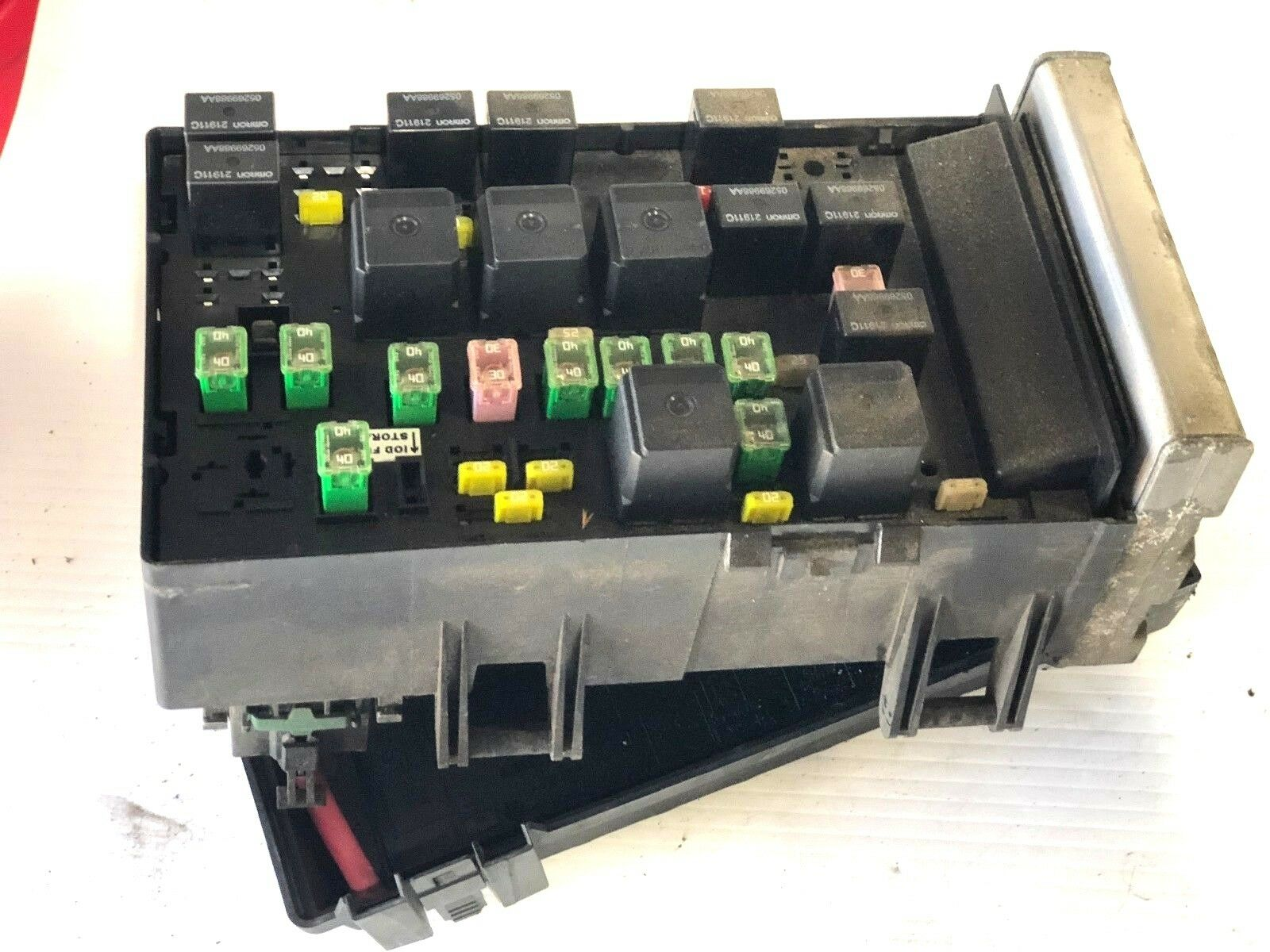 2003 - 2005 Dodge Caravan Power Module Fuse Box Relay Control Unit  05144506AF OE 1 of 5Only 1 available ...