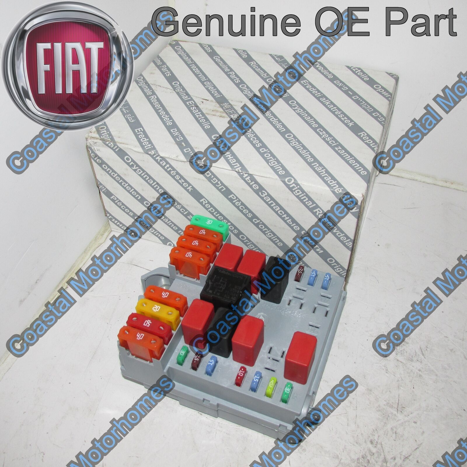 Fiat Ducato Peugeot Boxer Citroen Relay Fuse Box 2011-Onwards OE 1 of 3FREE  Shipping ...