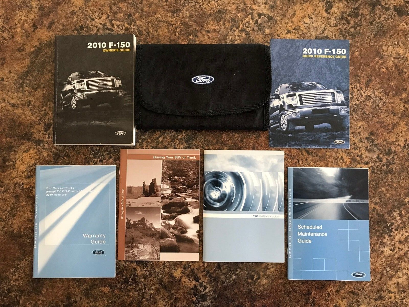 2010 Ford F150 Owners Manual w/ Case & Supplements - #DW ... 1 of 5FREE  Shipping 2010 Ford F150 Owners Manual ...